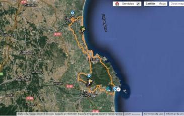 01 Ruta en bicicleta desde el Camping a Sant Pere Pescador, Mongrí, Torroella de Montgrí, Estartit, L'Escala