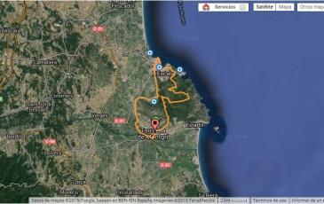 04 Ruta desde La Ballena Alegre, l'Escala, Torroella de Montgrí y vuelta al cámping