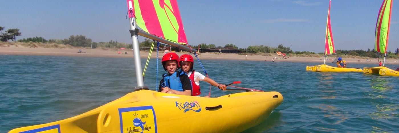 Sailing Ballena Alegre
