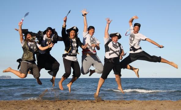 piratas playa