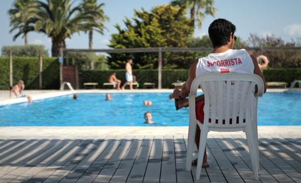 piscina central socorrista