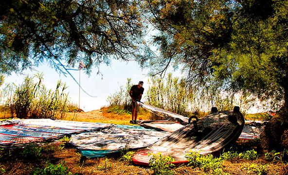 windsurf naturaleza